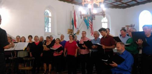 Bellinghami unitárius kórus koncertje